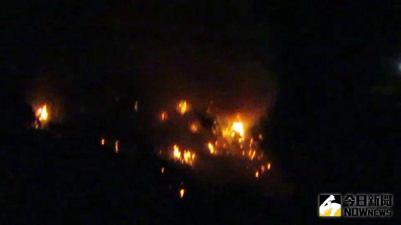 ▲2公里外的同安村都聞的到臭味,這三天大家都緊閉門窗,晚上都還看得到垃圾場冒出的火焰讓人驚心。(圖/記者陳雅芳攝,2020.09.16)