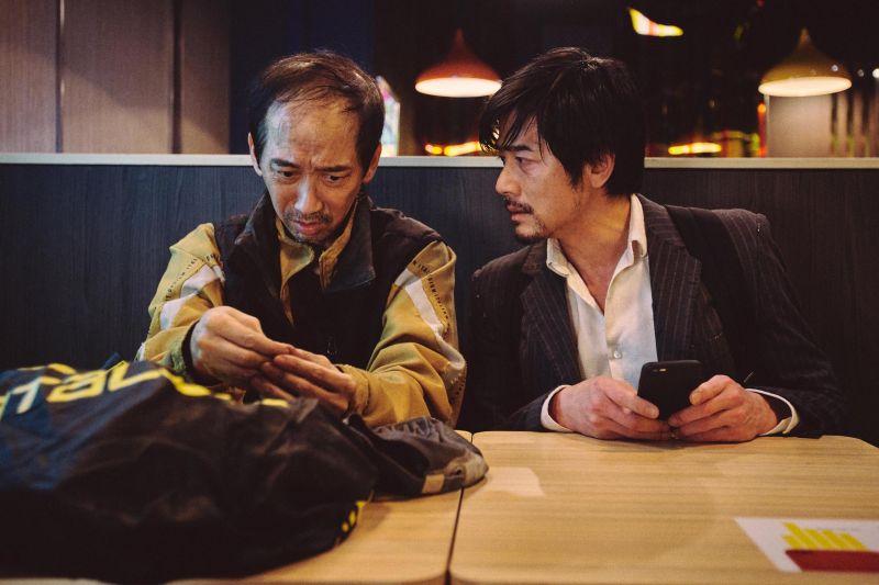 ▲▼張達明(左)與郭富城在電影裡有多場對手戲。(圖/華映娛樂)