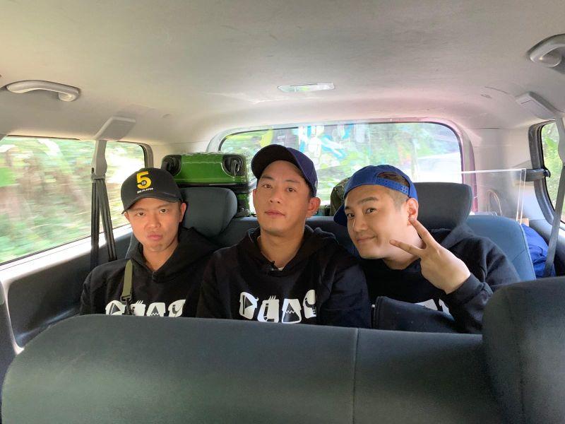 ▲綠茶(左起)、小鬼、Junior。(圖/Junior臉書)