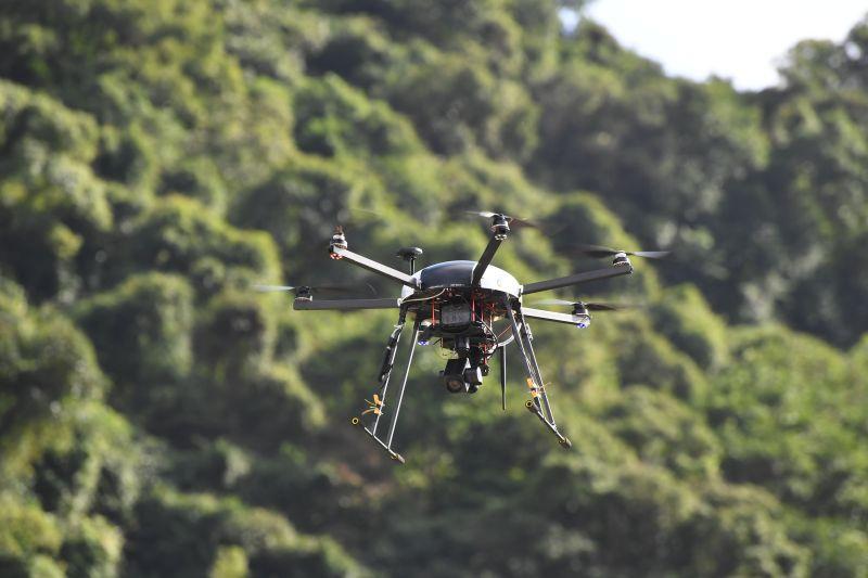基隆攜手工研院進行無人機智慧巡航 偏郊巡查有效率