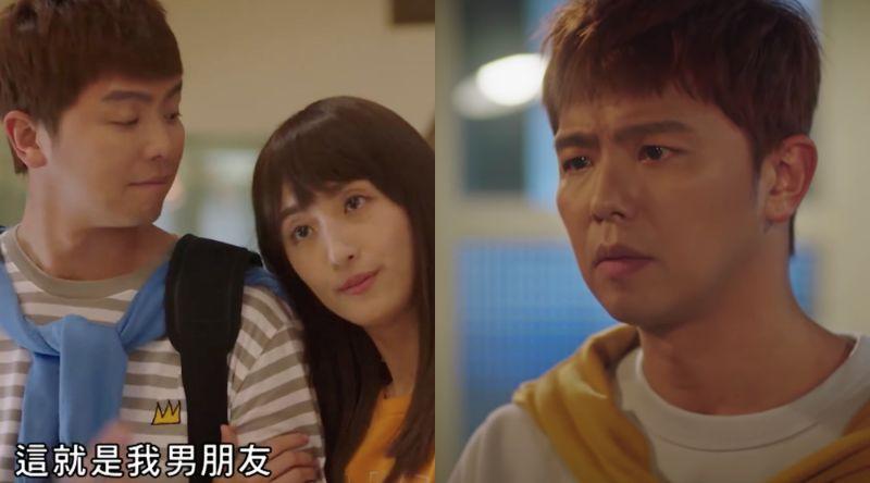 ▲小鬼(左)在神劇《想見你》裡的角色曾獲得觀眾熱烈討論。(圖/翻攝LINE TV)