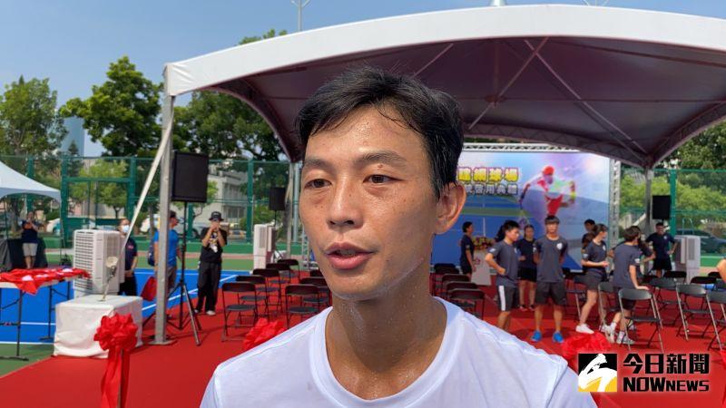 ▲盧彥勳指出,今年因疫情影響,所有的出賽計畫都暫停,目前目標是爭取明年的東京奧運會。(圖/記者陳聖璋攝, 2020.09.17)
