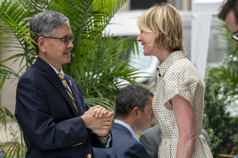 互動升溫!美駐聯合國大使與台代表會晤 協助推動參與UN