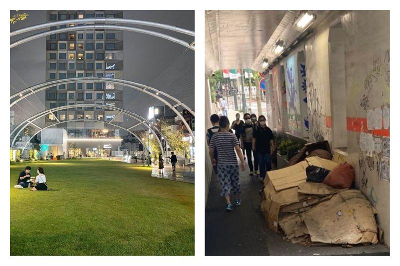 網美打卡<b>公園</b>底下是遊民的家 全場震撼:寄生上流真實版