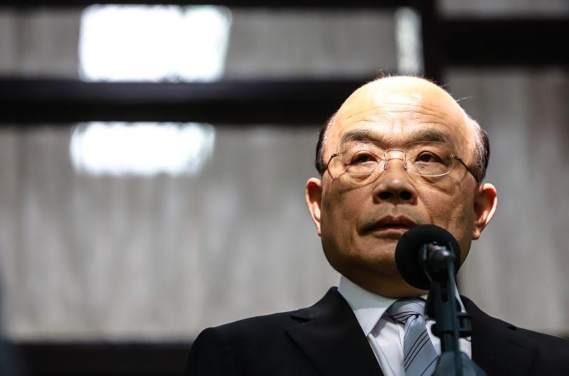 勞保改革 蘇貞昌:政府沒有倒 勞保就不會倒