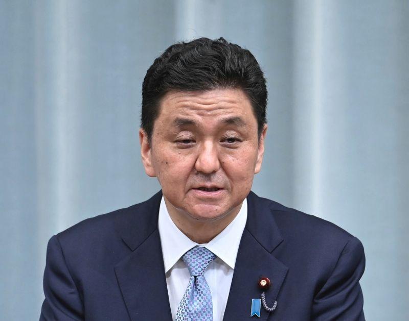 ▲日本新任防衛大臣岸信(圖/美聯社/達志影像)