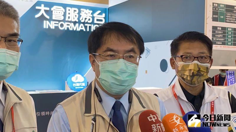 加碼送第2間房子目前尚未覓得,台南市長黃偉哲18日撂狠話,「不得已,3房1廳也只好買了」。