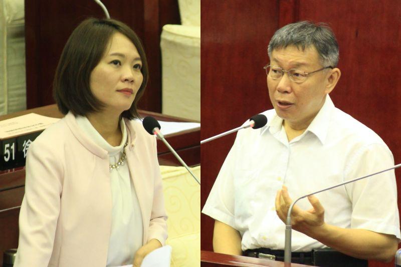 民進黨台北市議員簡舒培踢爆,台北市長柯文哲日前為建商解除列管的購地案,柯文哲曾經收受建商的政治獻金,質疑有對價關係。