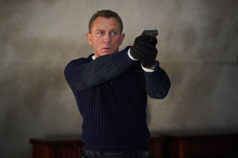 ▲《007生死交戰》是丹尼爾克雷格最後一部007作品。(圖/UIP)