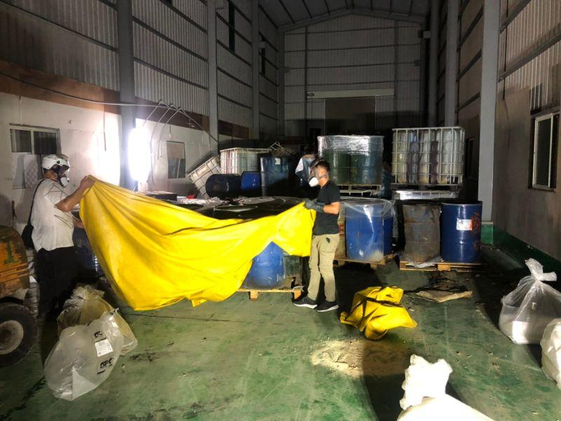 鳥松廢溶劑非法棄置 高市府重罰並移送法辦