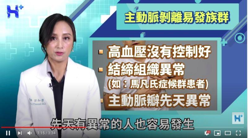 ▲急診醫師透露最容易引發主動脈剝離的「五大族群」。(圖/翻攝)