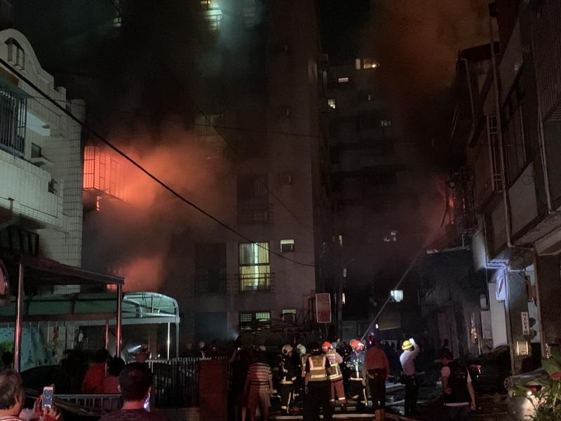 東海商圈氣爆4死1傷 瓦斯桶詭異遭開啟