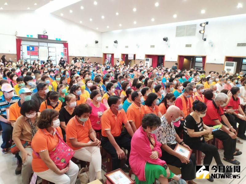 ▲彰化市受表揚的各類志工共79隊,人數多達482人。(圖/記者葉靜美攝,2020.09.19)