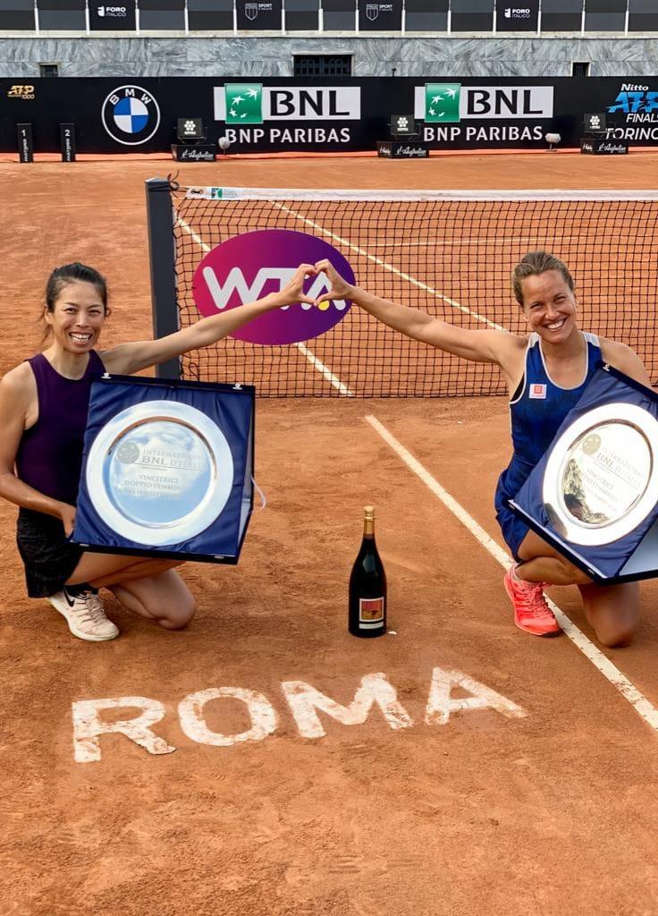 網球/繼年終女雙球后 謝淑薇入圍WTA年度最佳雙打組合