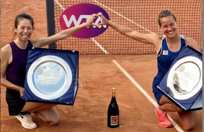 <b>網球</b>/疫情後首冠!謝淑薇三奪羅馬女雙金盃