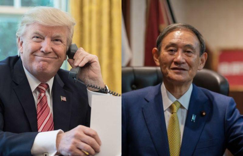 美日雙方通話討論<b>印太穩定</b> 菅義偉:川普說有事就打給他