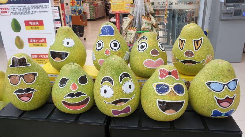 ▲全聯內各個神手繪出的柚子作畫成品,讓不少大讚「高手在民間!」(圖/翻攝我愛全聯-好物老實説臉書)