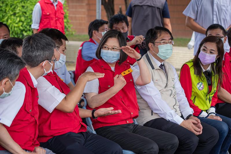 出席國家防災日活動 總統盼台灣更重視防災教育