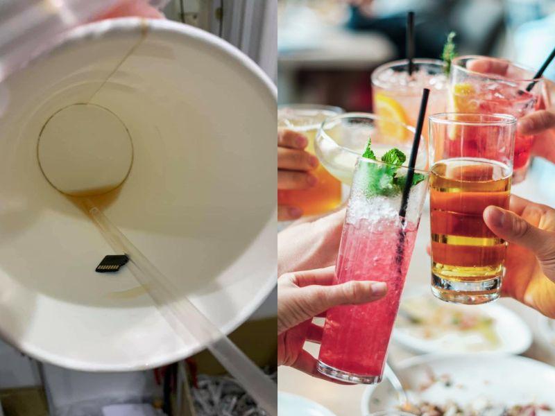 ▲網友叫了外送知名連鎖套餐一份,喝完飲料卻發覺底下,有黑黑一片。(示意圖/翻攝自《pixabay》 及《爆怨公社》)