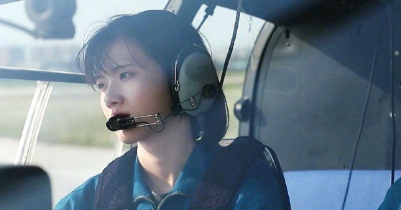 中國高顏值女空軍照曝光 網友暴動:戀愛了!