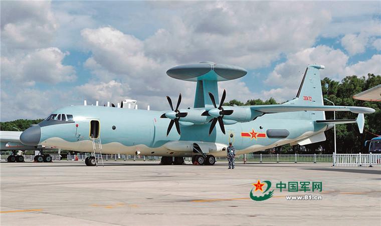 ▲空軍空警500空中預警機。(圖/中國大陸國防部軍網)