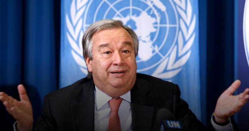 聯合國秘書長呼籲 避免美中新冷戰