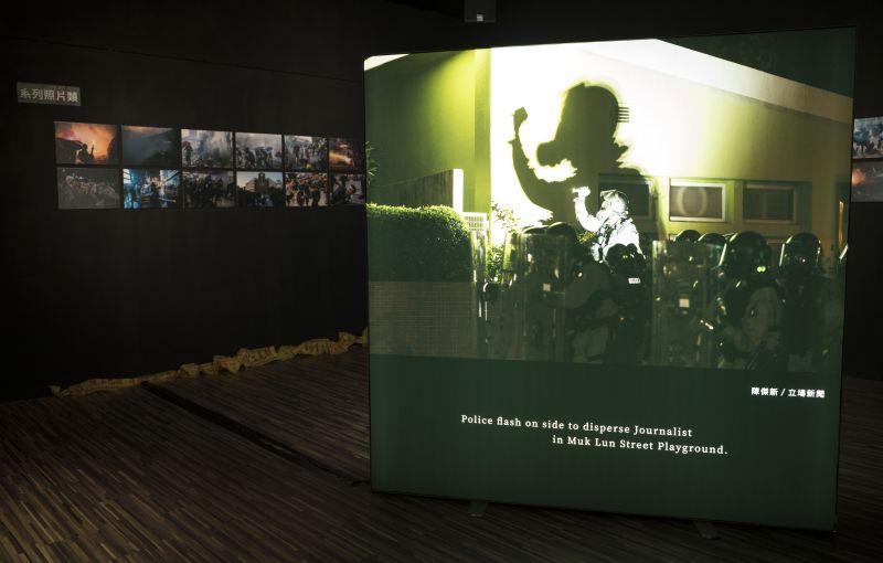 「反送中」照片奪下台灣新聞攝影展首獎