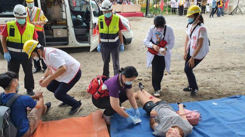 加強應變統合救災 台鐵宜蘭區鐵安演習首度拉站外舉行