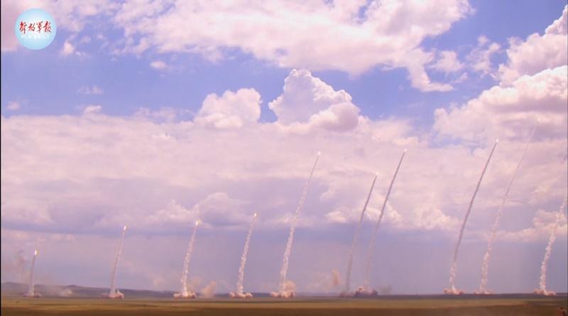 兩岸局勢緊張 解放軍東部戰區再釋出飛彈試射影片