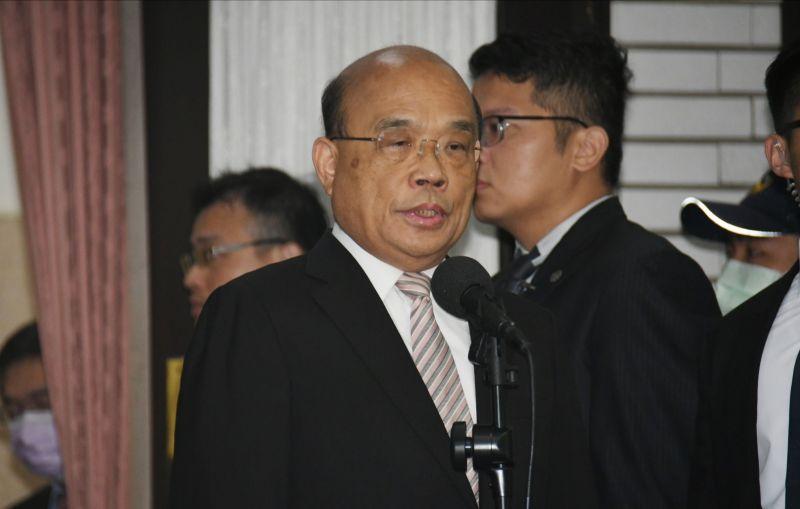 萊豬行政命令備查改審查 蘇貞昌:尊重、不反對
