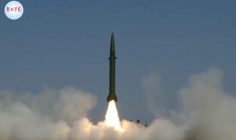 中國東部戰區狂射東風11飛彈 國防部:國軍全程掌握