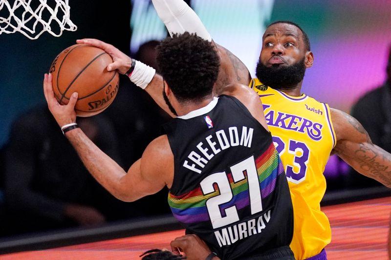 NBA/為何要求跑去守Murray?詹皇:因為是致勝時刻