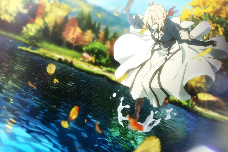 ▲▼《紫羅蘭永恆花園電影版》日本上映獲得好評。(圖/采昌)