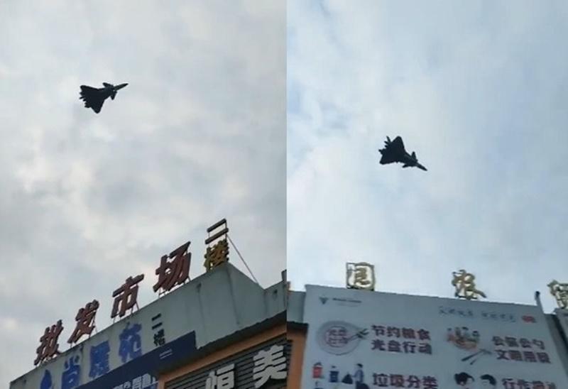 陸網傳殲-20戰機疑部署衢州機場!距台僅500公里