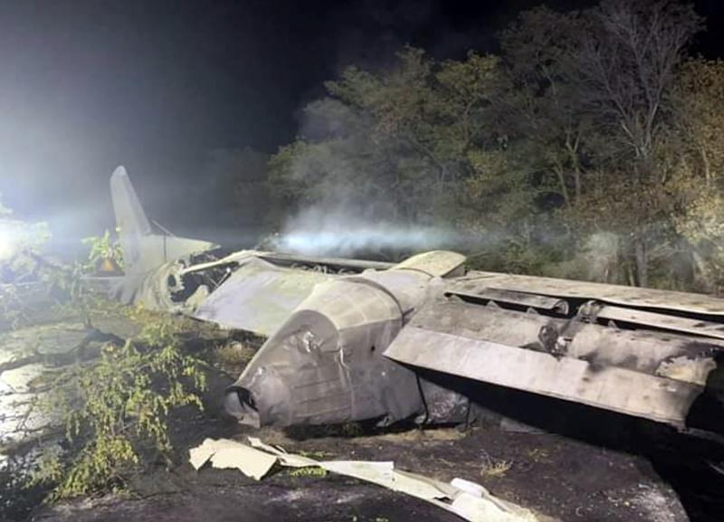 烏克蘭<b>軍機</b>墜毀釀25死 目擊者:人員火海跳機
