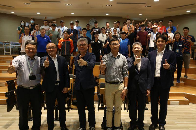 ▲中華奧會今(26)於國訓中心舉辦運動經紀論壇。(圖/中華奧會提供)