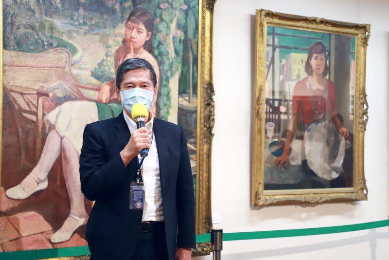 ▲李永得表示,「此展得以讓我們看到台灣美術的發展及傳承,不僅是美術界的盛事,更寫下了台灣美術史上重要的一頁」。(圖/文化部提供)