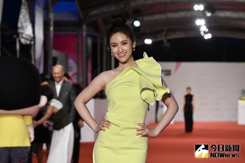 ▲吳姍儒出席金鐘55星光大道(圖/NOWnews影像中心攝