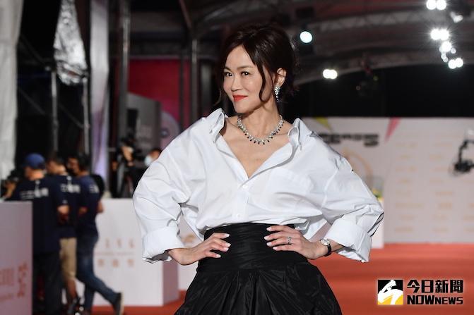 金鐘紅毯/高怡平隔21年再入圍 兒向友炫耀:台灣奧斯卡