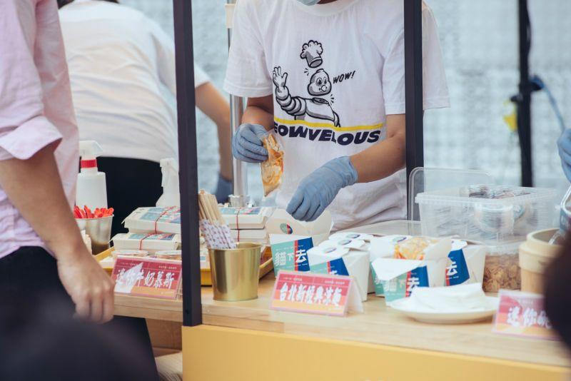 ▲「貓下去」為台北文創記憶中心特別設計多元化的「台灣味」早餐。(圖/台北文創提供)
