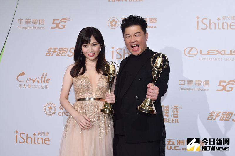 金鐘55/《全民星攻略》抱獎 「學霸美女」蔡尚樺謝男友