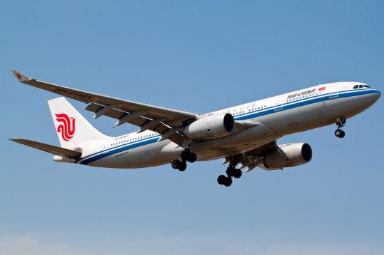 中國國航一乘客在飛行途中自殺 送醫後不治