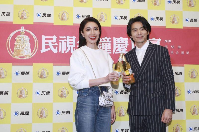 ▲楊謹華(左)女主角獎再度夢碎。(圖