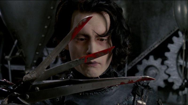 ▲強尼戴普認為「剪刀手愛德華」等於「剪刀手提姆」。(圖/聯影)