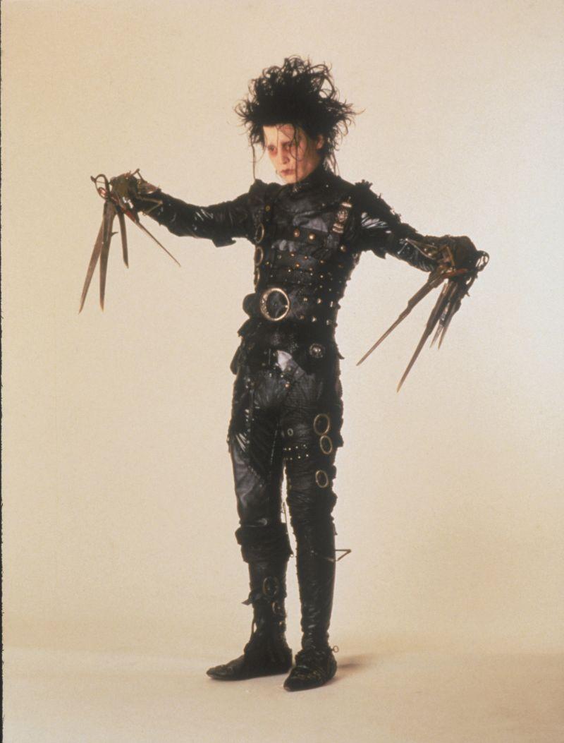 ▲▼《剪刀手愛德華》其實就是提姆波頓的化身。(圖/聯影)