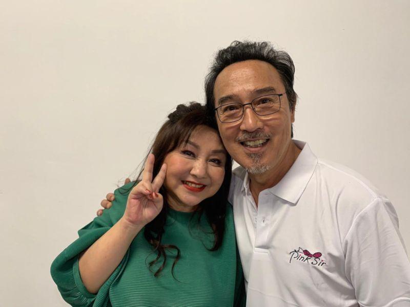 ▲鄭怡(左)、趙樹海在「民歌45」開唱。(圖/開麗娛樂提供)
