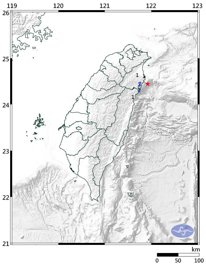 ▲今(28)日凌晨3點31分,宜蘭縣發生芮氏規模3.6地震,地震深度僅17.6公里。(圖/翻攝自中央氣象局官網)