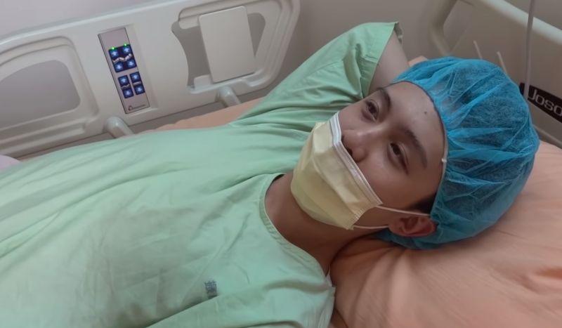 ▲孫安佐上傳一段影片,透露自己為了20年的隱疾動了一項手術,親揭消失一個月時間的原因,以及手術後復原過程。(圖/翻攝自YouTube《Sun孫安佐的頻道Edward》)