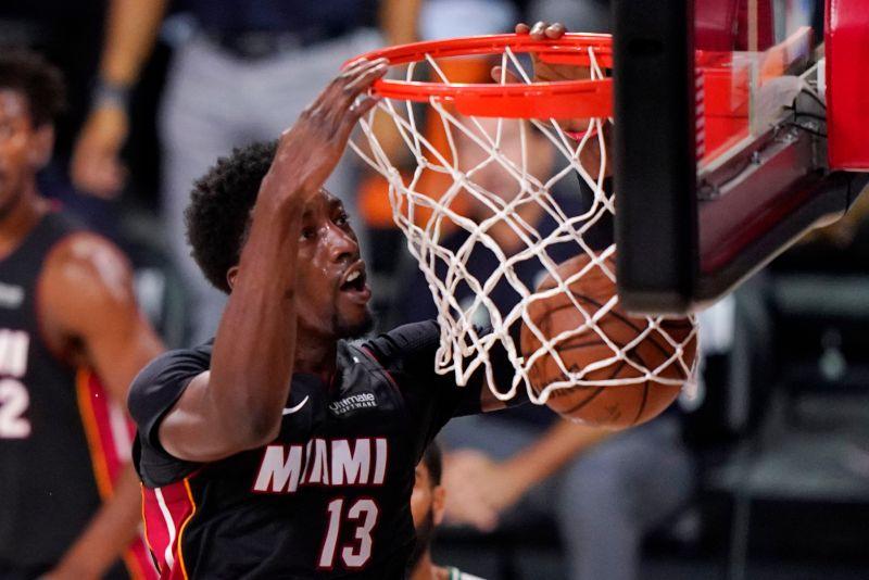 NBA/力抗湖人詹皇關鍵第4戰 熱火中鋒Adebayo回歸
