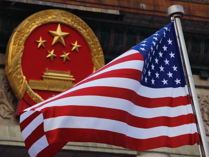 美國國旗/中國